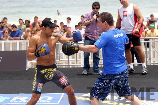Jose Training at Barra da Tijuca beach